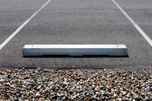 parking space bumpers