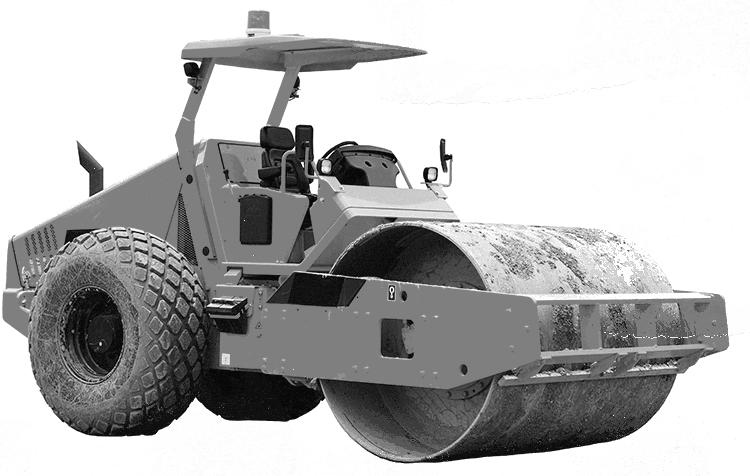 laying asphalt