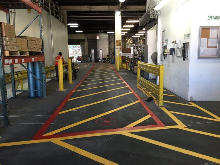 asphalt striping