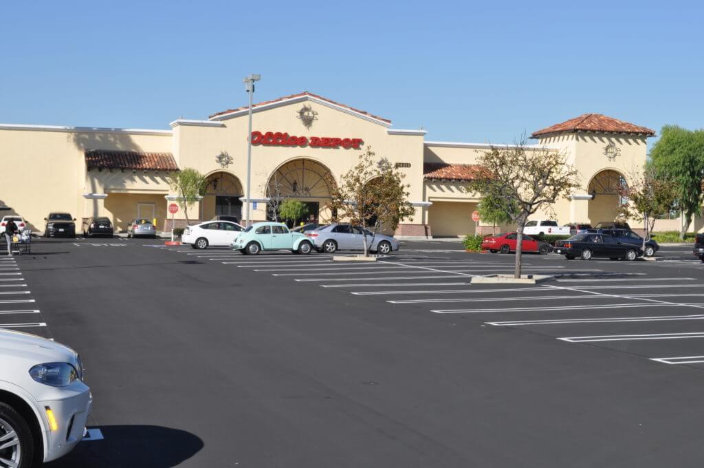 office depot parking lot